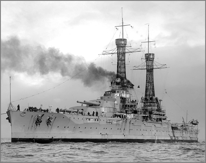 USS Nevada en 1925