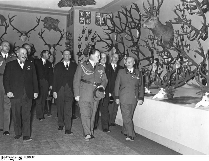 Az 1937-es berlini Nemzetközi Vadászkiállításon