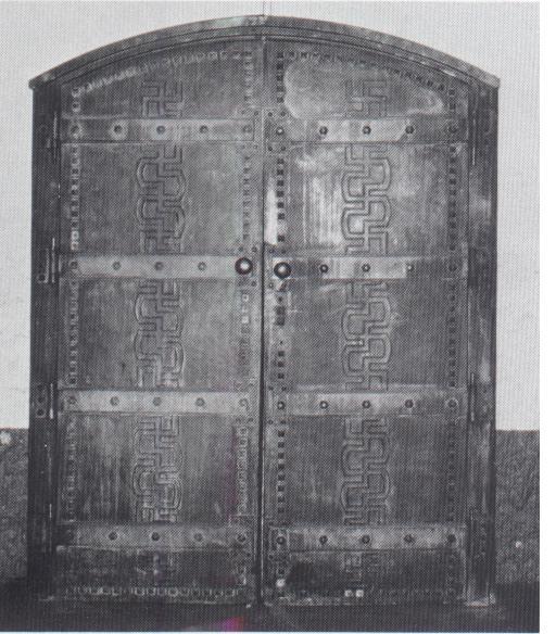 Carin Göring kriptájának bejárata