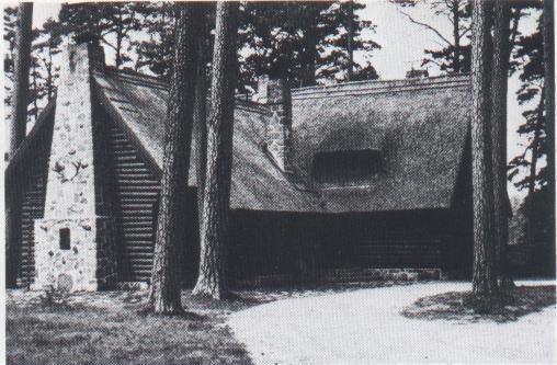 Az eredetileg a területen állt vadászház