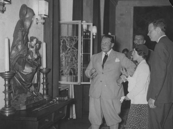 Charles Lindberg is a vendége volt 1936-ban