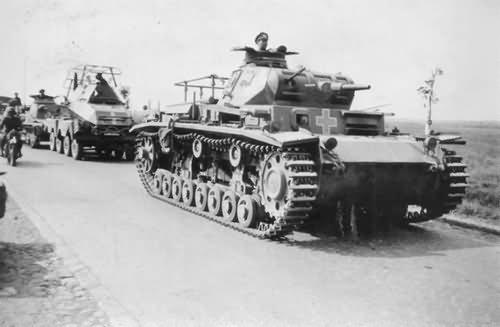 Parancsnoki Panzerkampfwagen III Ausf. D