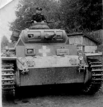 Parancsnoki Panzerkampfwagen III Ausf. E