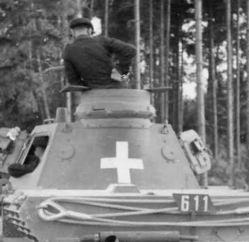 Panzerkampfwagen IV Ausf. C tornya hátulról