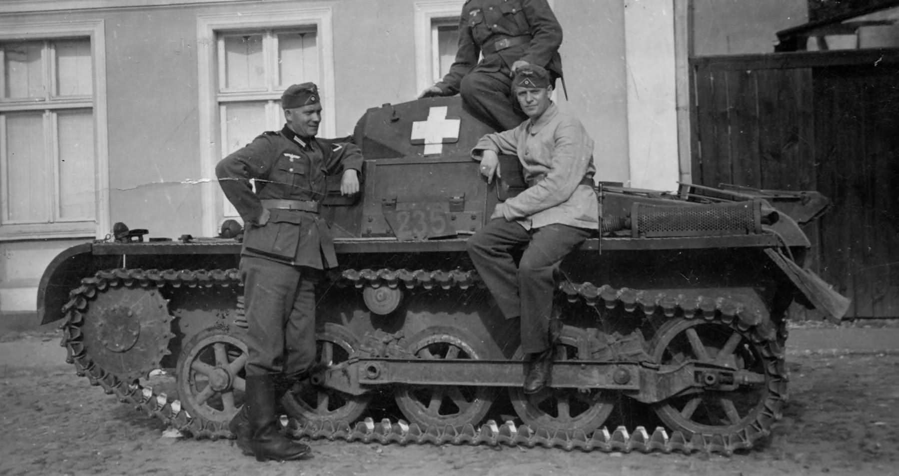 Panzerkampfwagen I Ausf.A harckocsi