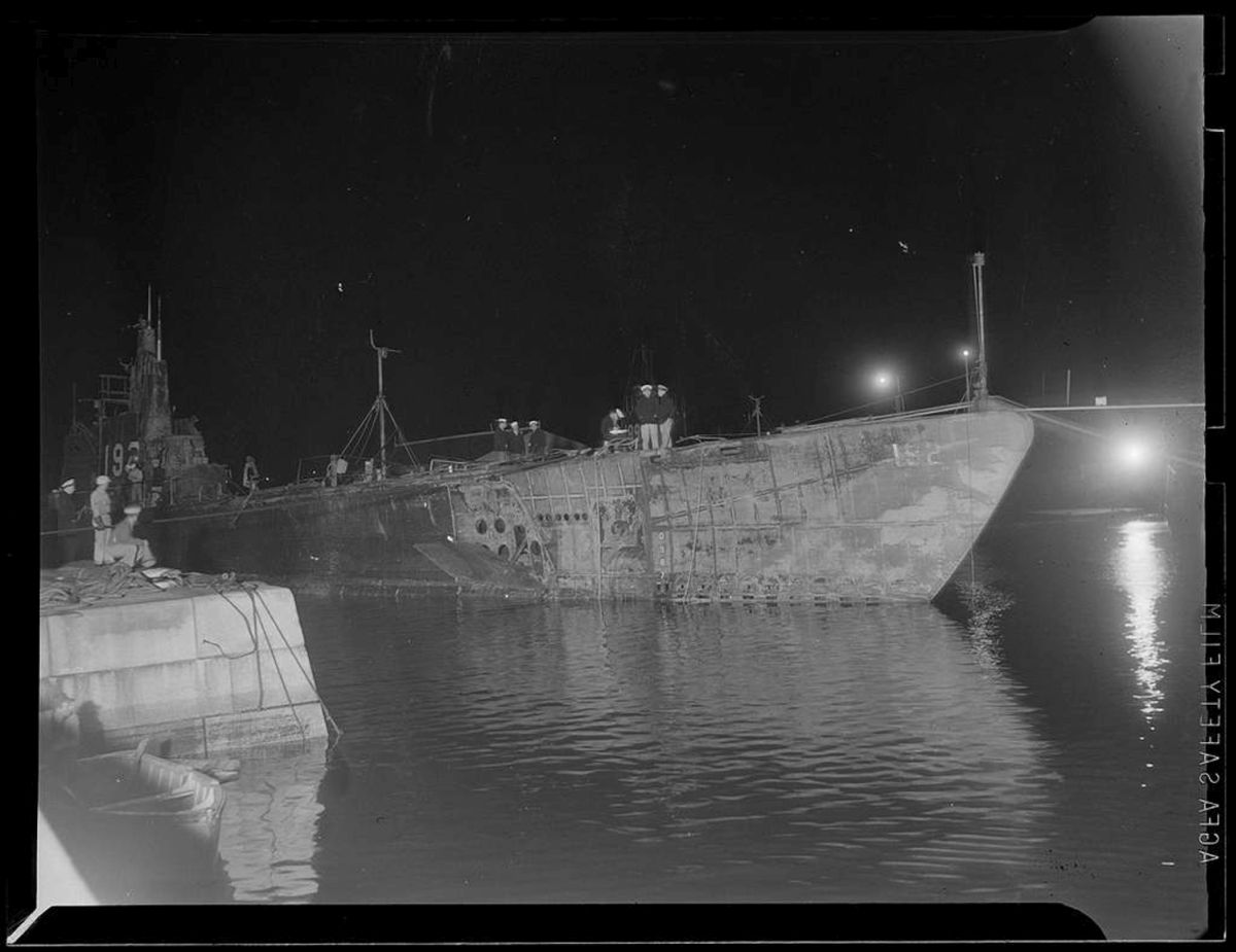 A USS Squalus Portsmouthban.