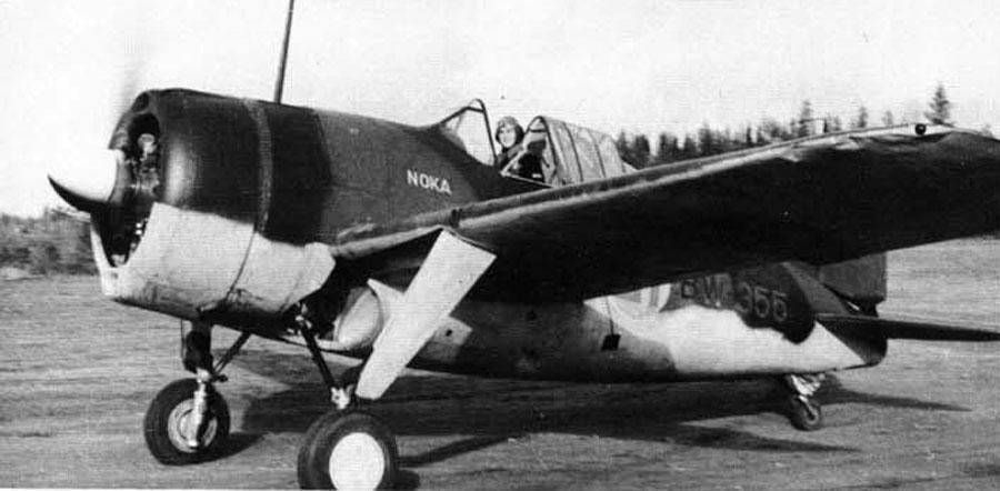 A Nokia gyár is támogatta anyagilag a Brewster Model 239 vadászgépek beszerzését, ezért került a BW-355 lajstromszámú gép oldalára a NOKA felfestés