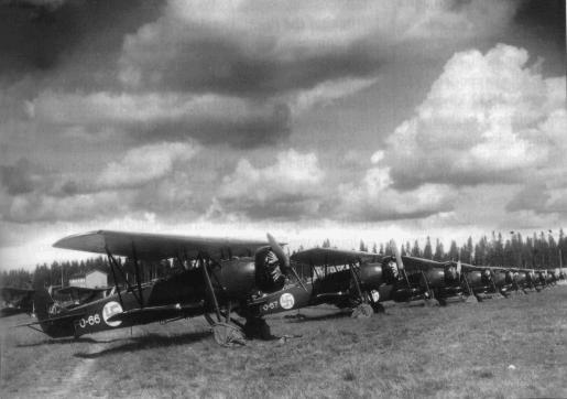 Finn Fokker C.V könnyűbombázók