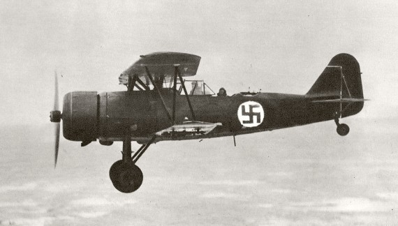Finn Fokker C.X a levegőben