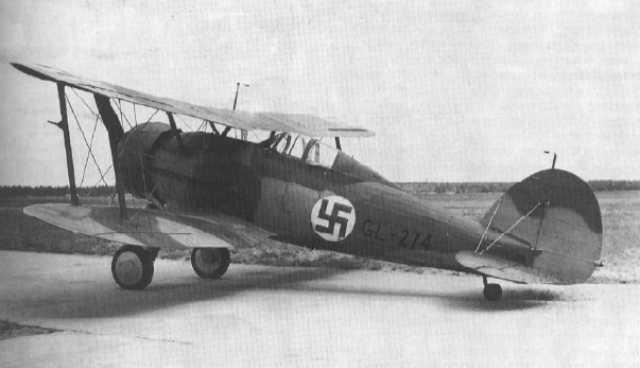 Finn Gloster Galdiator Mk. II vadászgép