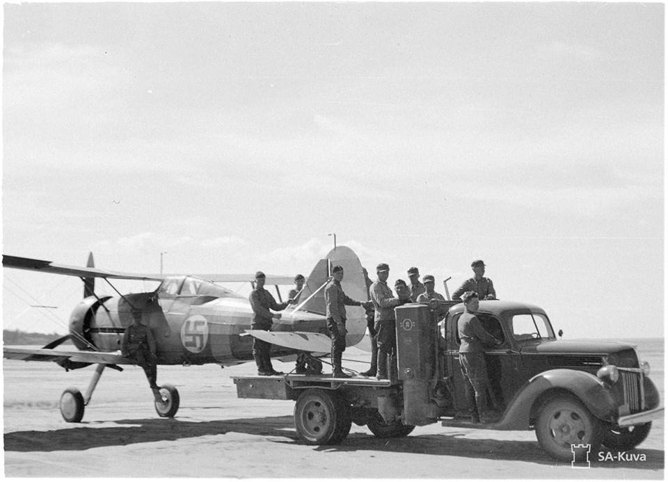 Finn Gloster Galdiator Mk. II vadászgép 1941. nyarán