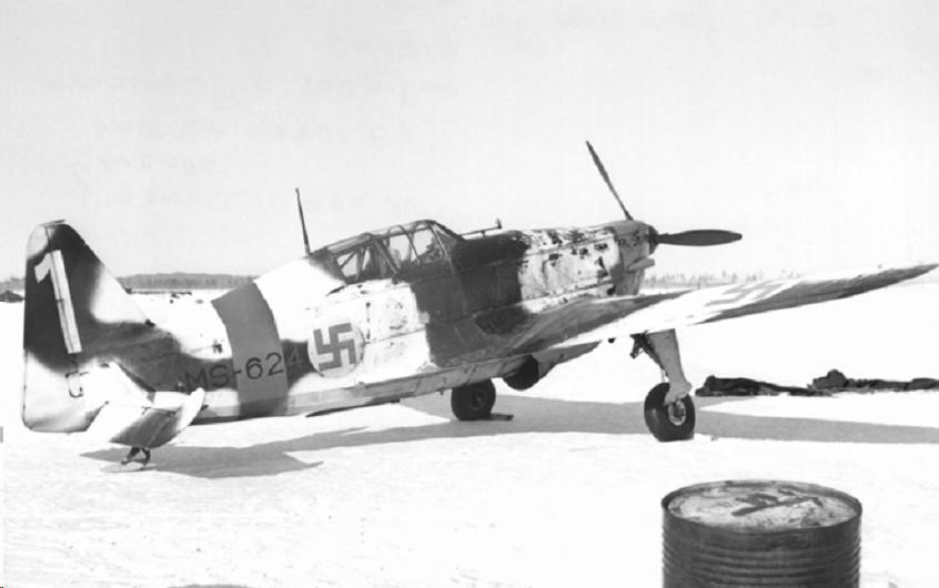 Finn Morane-Saulnier M.S.406 vadászgép