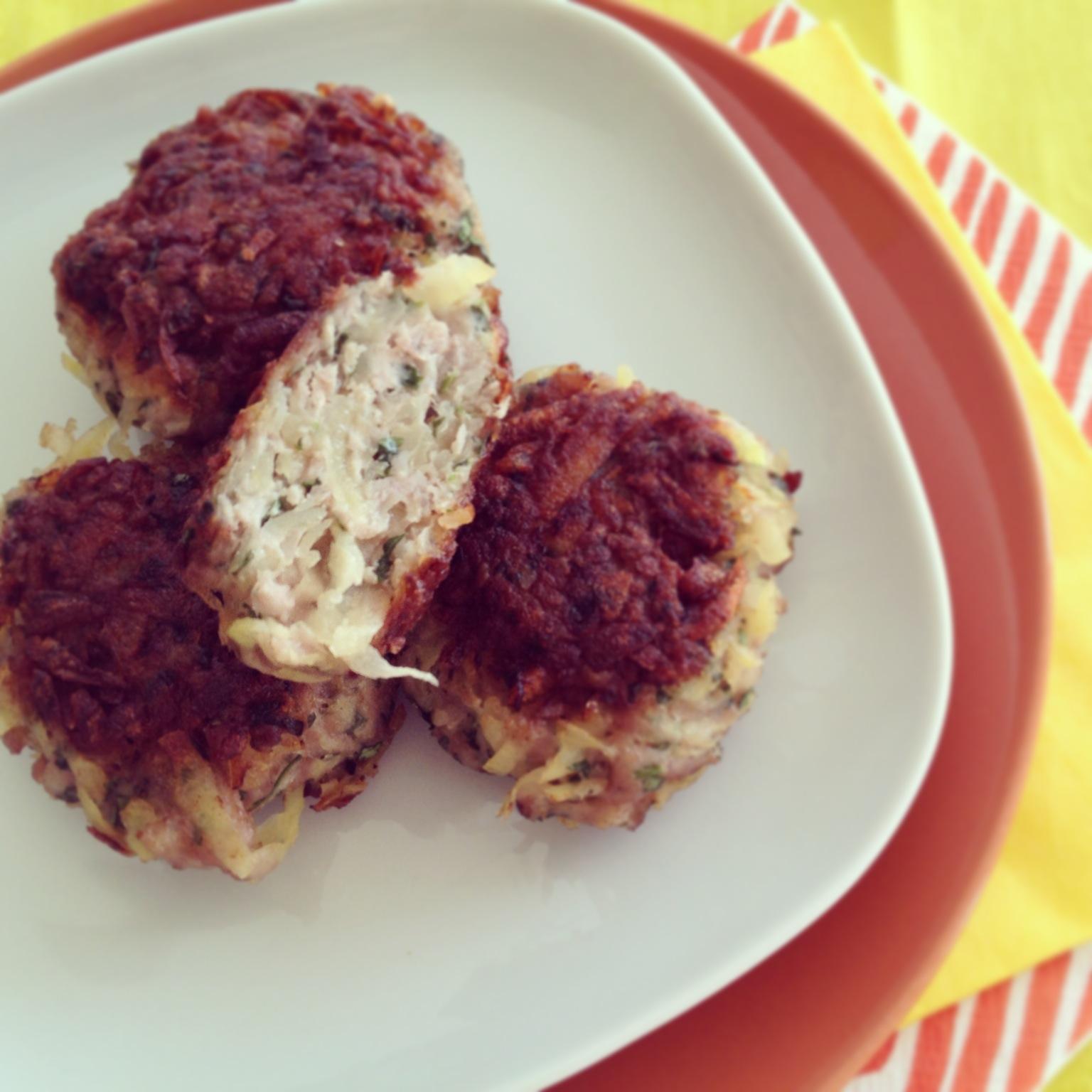 krumplis-petrezselymes burger