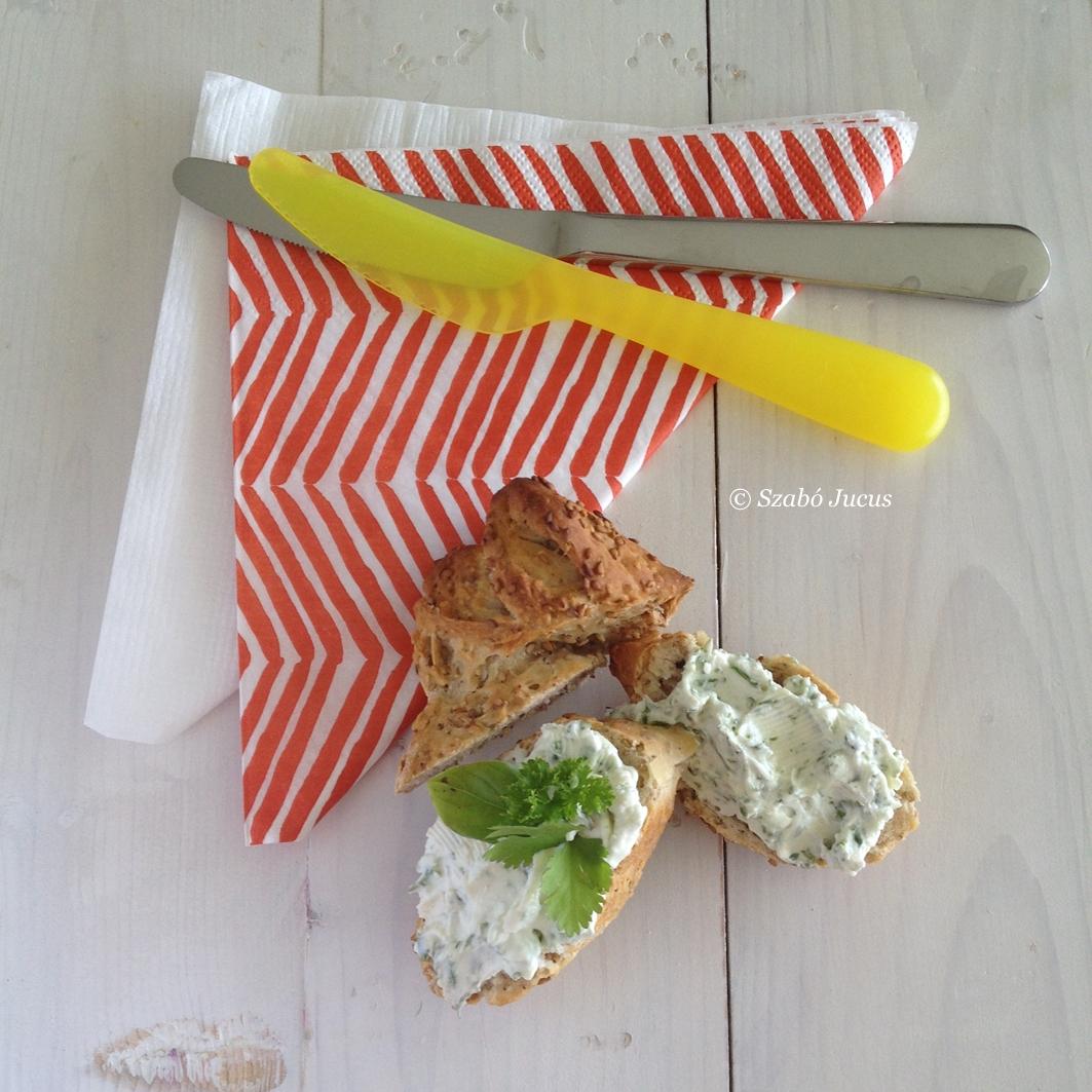 Zöldfűszeres sajtkrém 5 hozzávalóból