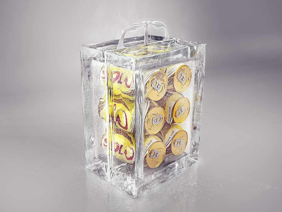 Hideg sör 30 fokban is, jégből készül rekeszből