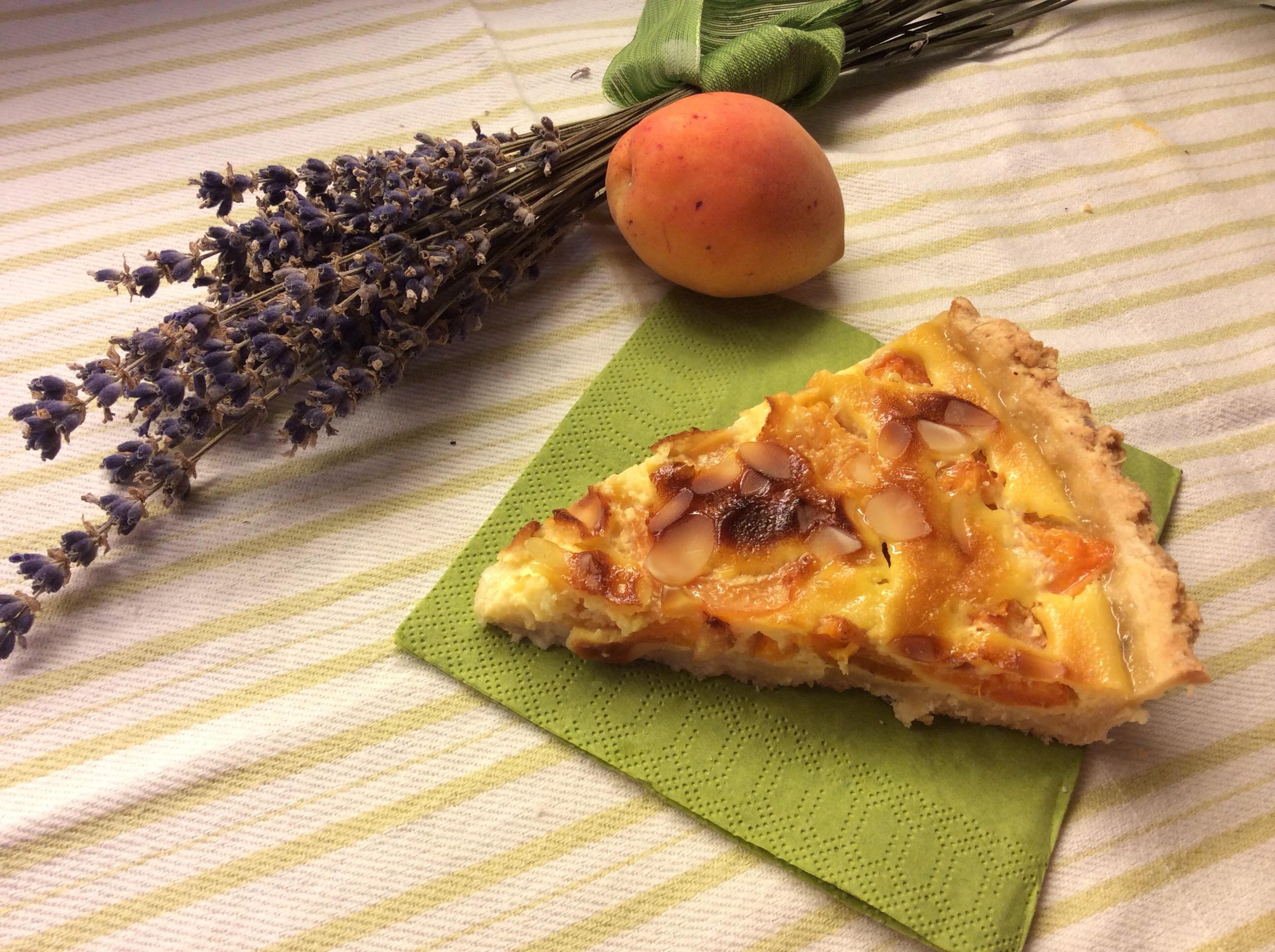 Tour de serpenyő 2014. 14. szakasz -  Tarte à l'abricot sur pâte à l'huile d'olive et lavande