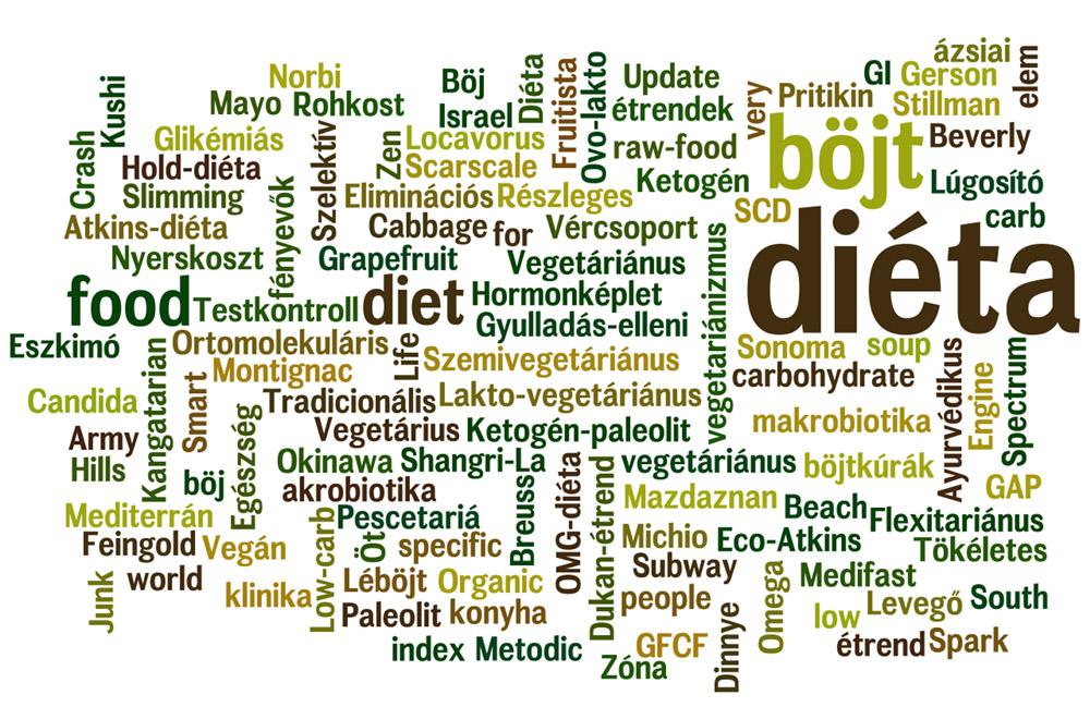 különleges étrendek hogyan lehet fogyni