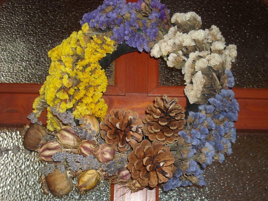 Marcika , koszorú, szárazvirágok 050.jpg