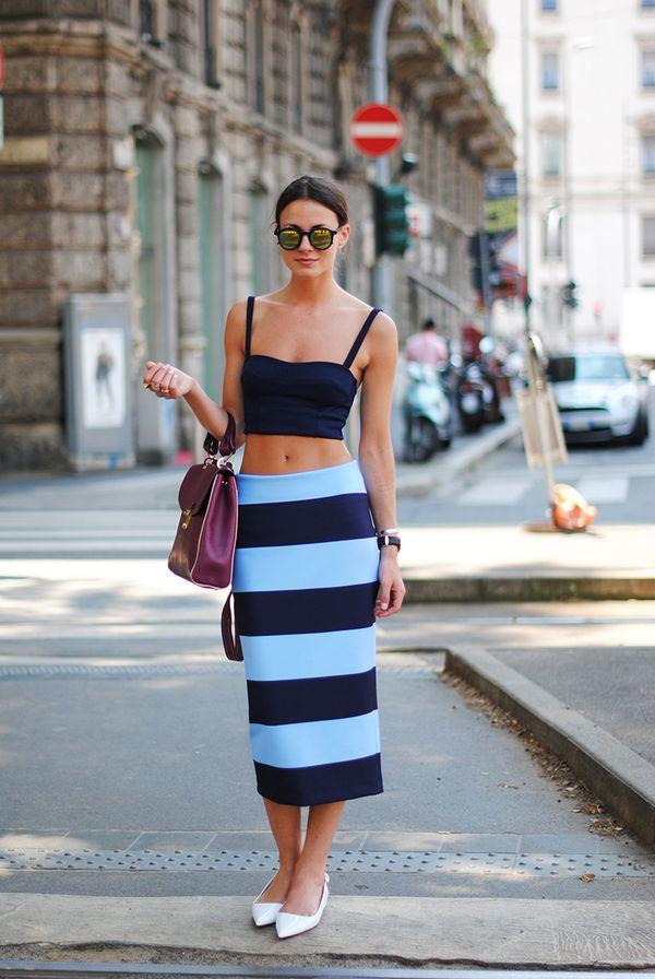 zina, fashionvibe, milan, zara, sjirt, stripes, street style, blue.jpg