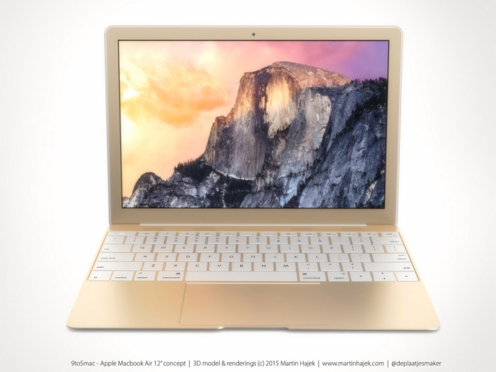 Nagyon tartja magát a 12 colos MacBook Air híre: könnyebb, vékonyabb lesz, mint az eddigiek, az eleve összébb húzott billentyűzetnél véget is ér a gép, nem lesz benne ventilátor, csak egy usb lesz rajta, a töltés is azon keresztül megy, cserébe viszont olcsón elvihetjük majd. Az év nagy meglepetése lehet.