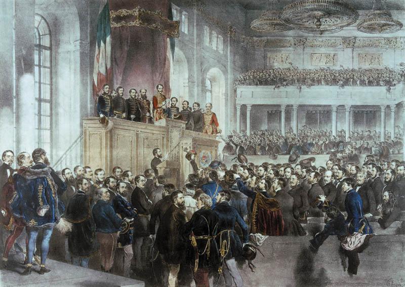 országgyűlés megnyitása