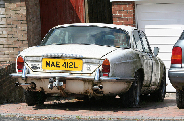 Dilton Marsh, England, United Kingdom Daimler Sovereign.jpg