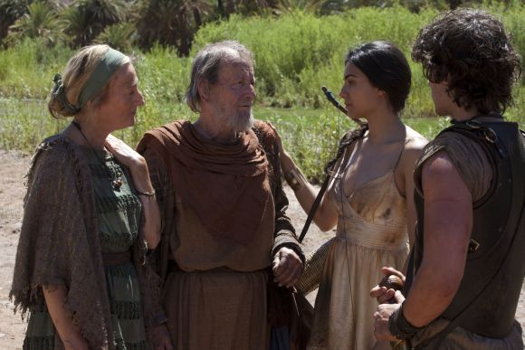 Eurüdiké, Orpheusz, Ariadné és Jason - már mind a nekropolisz fogja.