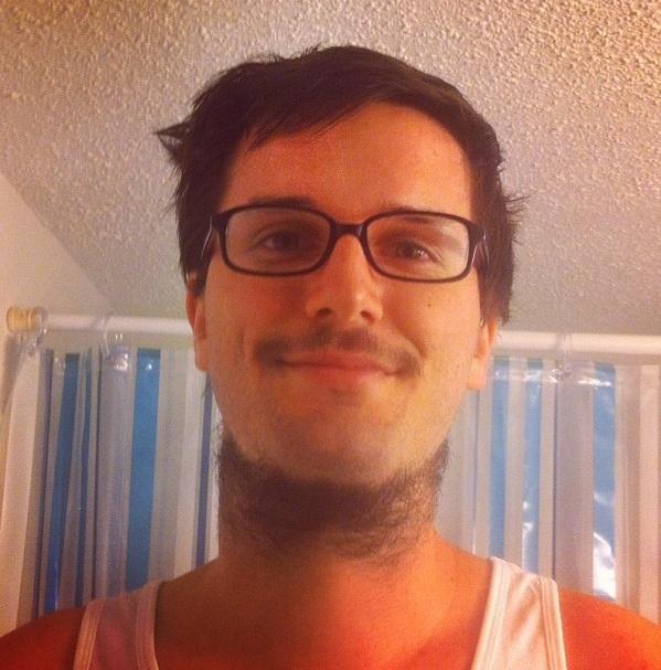 Neckbeard nerd