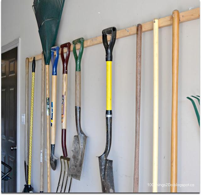 Best Way To Hang Garden Tools