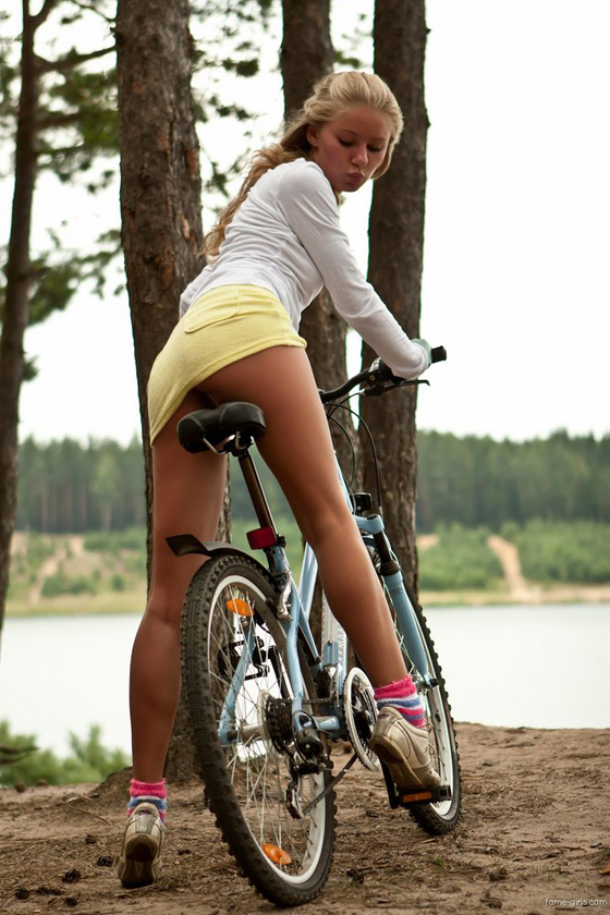blonde bicycle girl rider bike babe 6.jpg