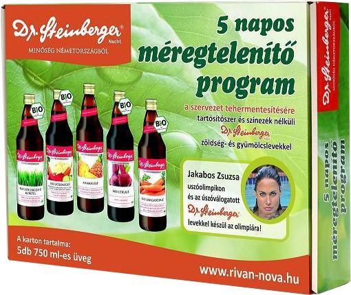 méregtelenítés gyümölcslevekkel ár)