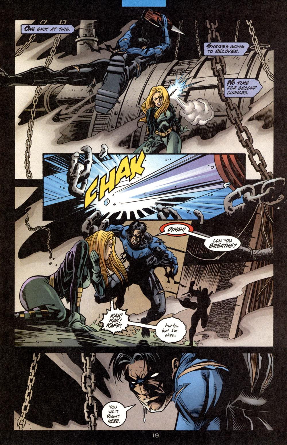 Black Canary And Nightwing D19 nightwing blackcanary.jpg Black Canary Birds Of Prey