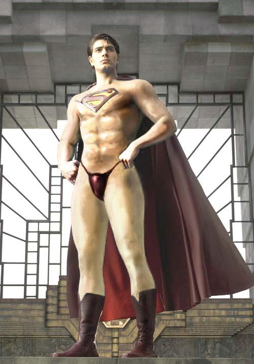 Superman meztelenül