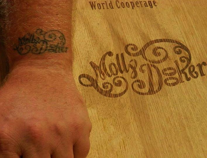Mollydooker dedication.jpg