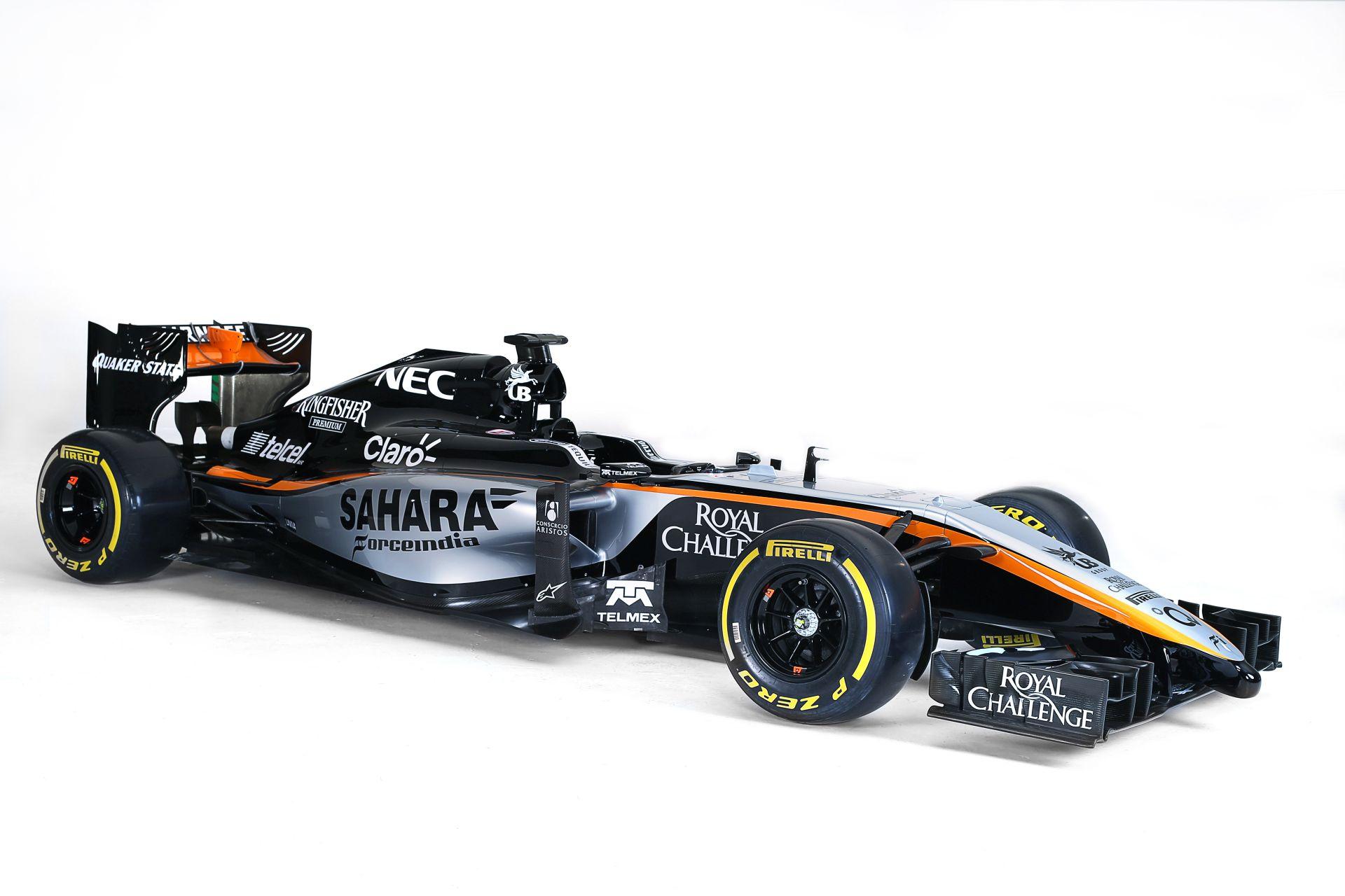 F1 - Bemutatta a Force India az új festését!