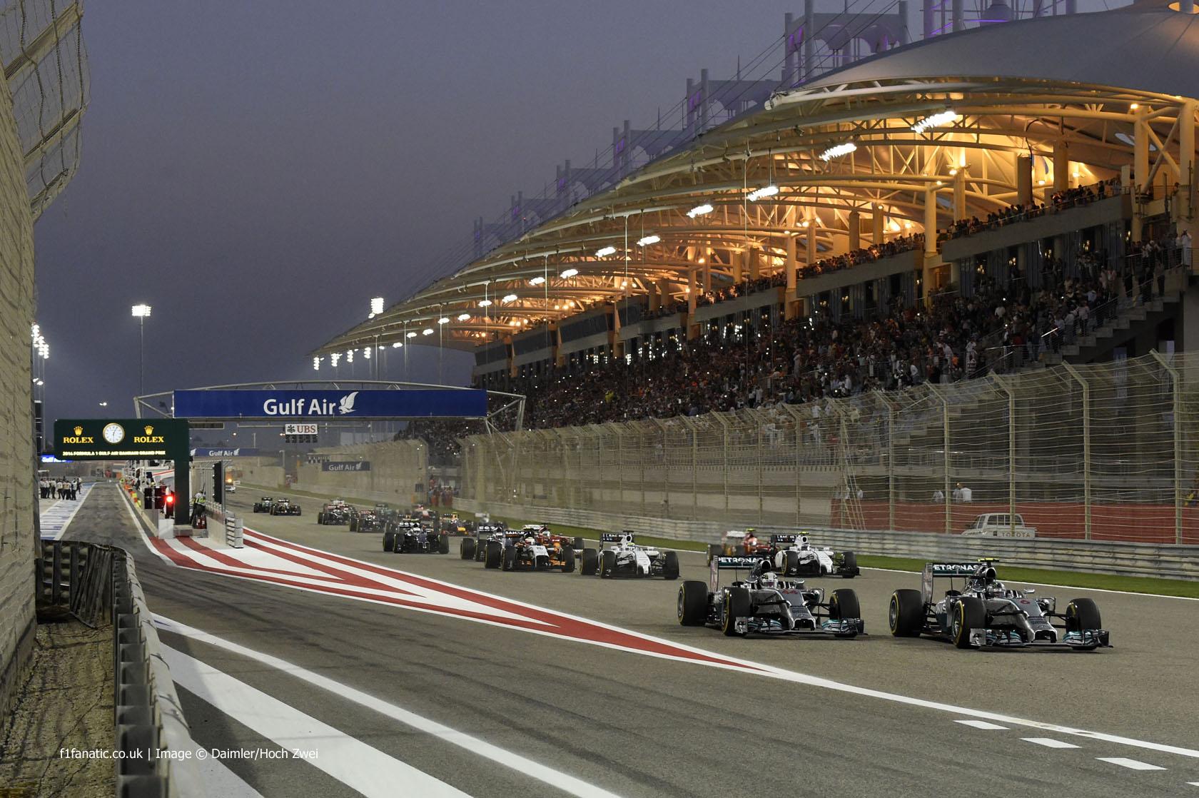 F1 - 2015 BAHREINI NAGYDÍJ: A RAJTRÁCS