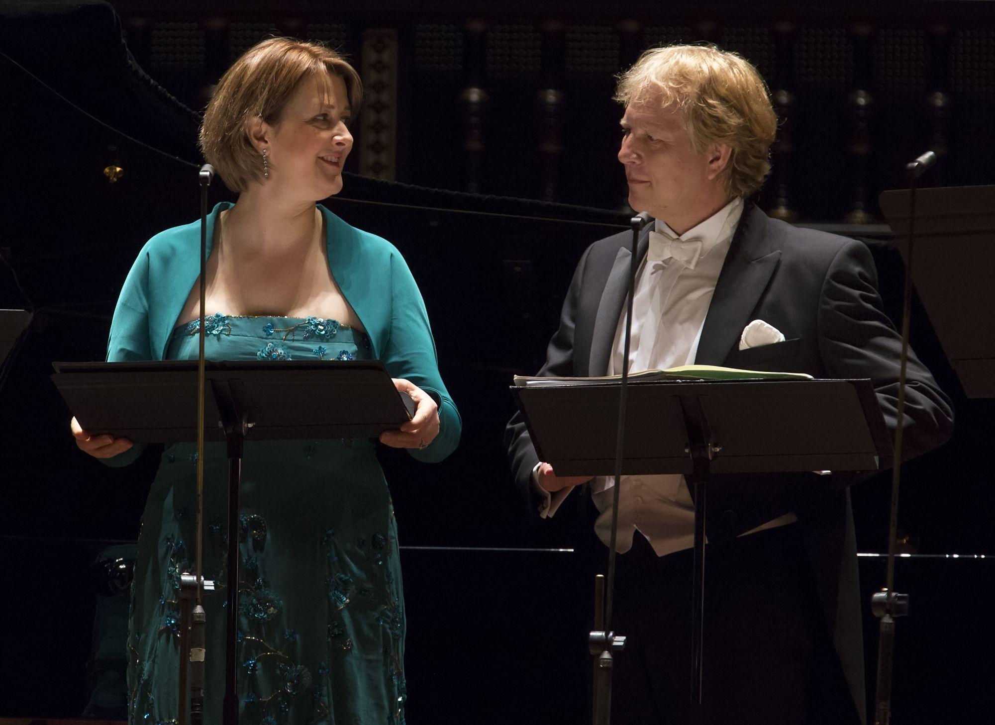 Schubert Kvartett - Christiane Oelze, Markus Schäfer © Posztós János
