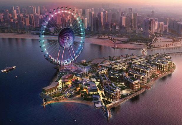 A miénknél hétszer nagyobb óriáskerék épül Dubajban