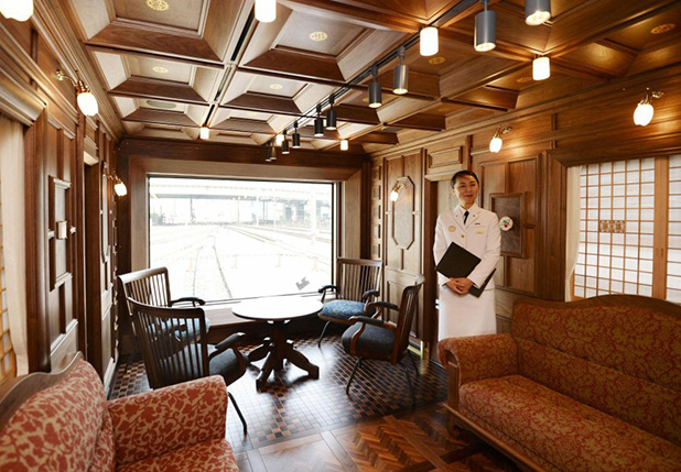 Imádják a luxusvonatot a japánok