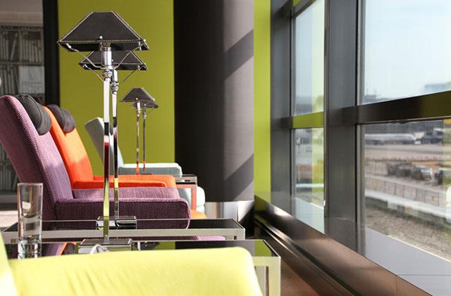Bokszolni is lehet a frankfurti reptér legjobb lounge-jában