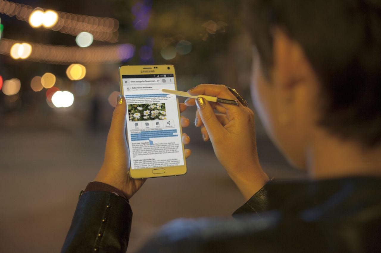 Samsung Note 4: a nagy az új kicsi