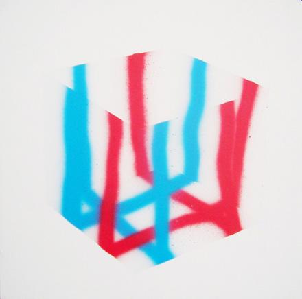 Mennyhárt Norbert Box, spray on canvas, 50x50.JPG