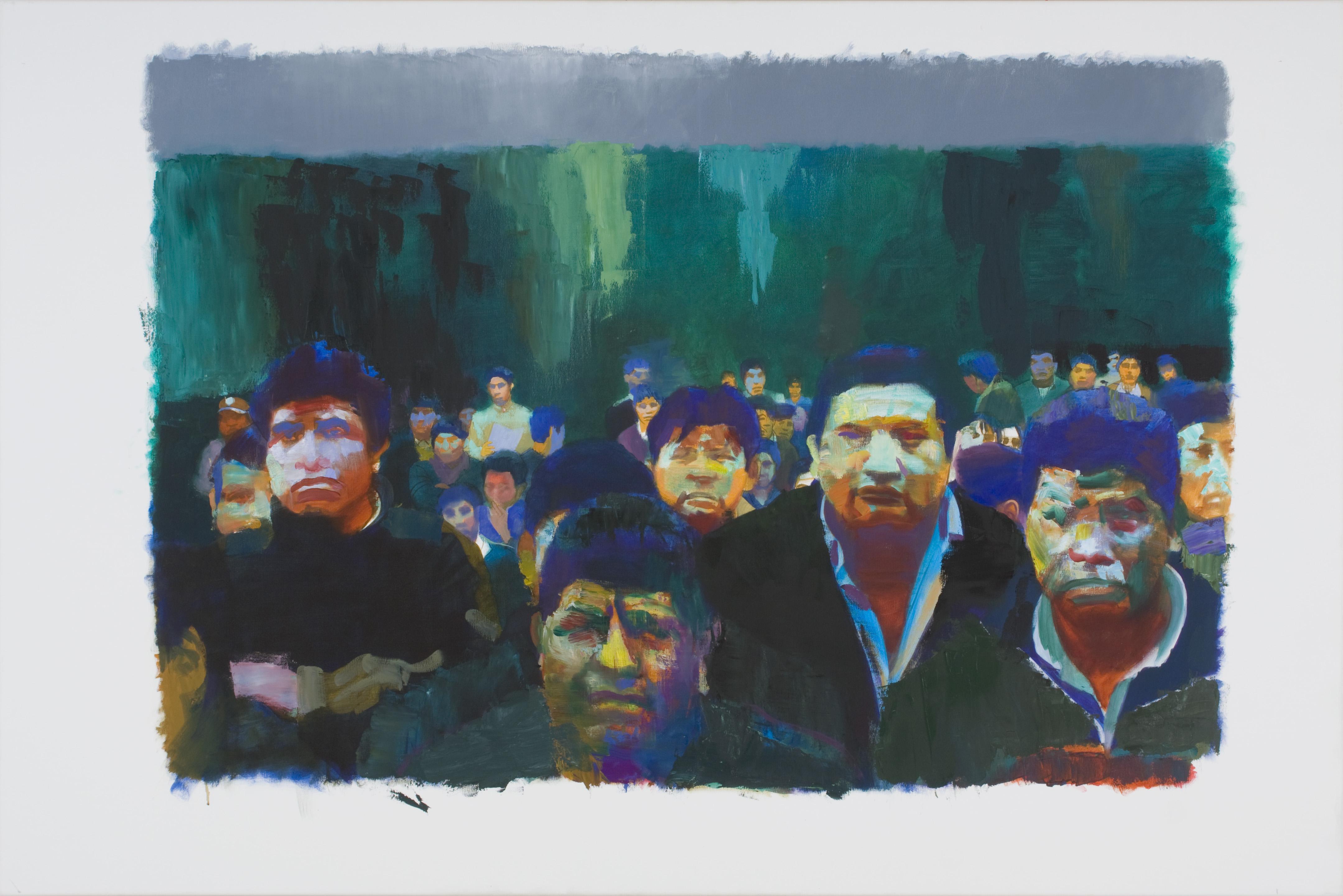 36 Selbstbildnisse, 2013, olaj, vászon, 100x150 cm