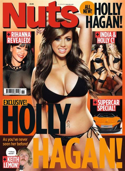 Holly Hagan (2014.03.14. Nuts)