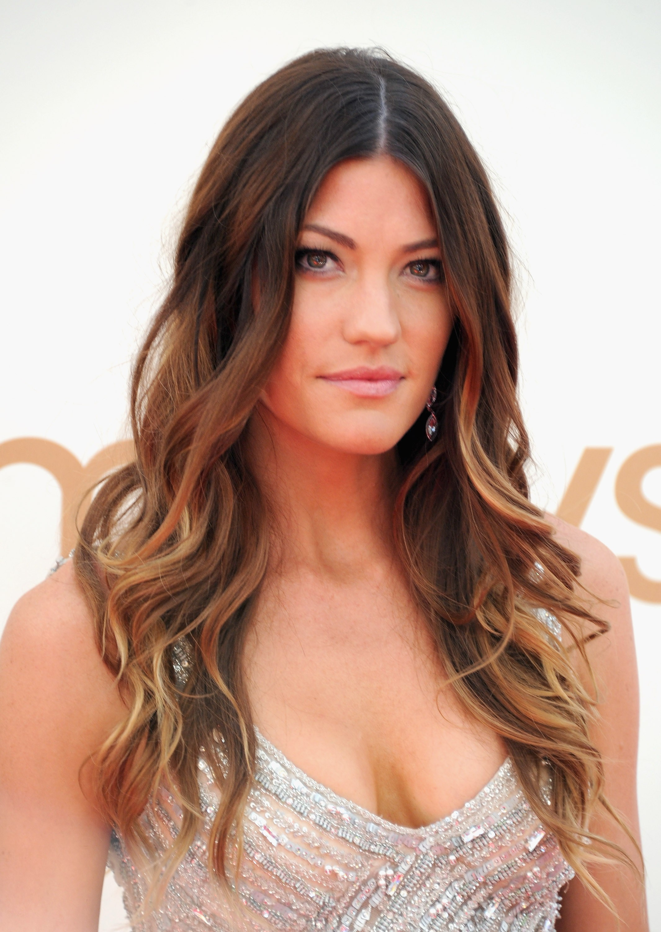 The 38-year old daughter of father Robert Carpenter and mother Catherine Mitchell, 173 cm tall Jennifer Carpenter in 2018 photo