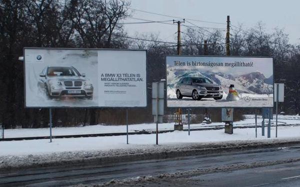 Új adó jön százmilliós értékben az utcai hirdetésekre