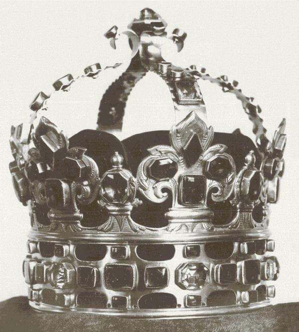 Erős Ágost lengyel koronája