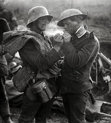 I See You Are a Man Like Me' Christmas Truce of 1914 – Maiden on ...