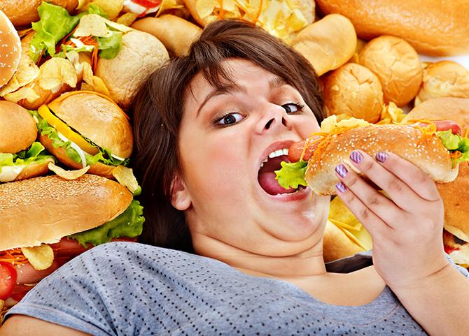 hamburger függőség