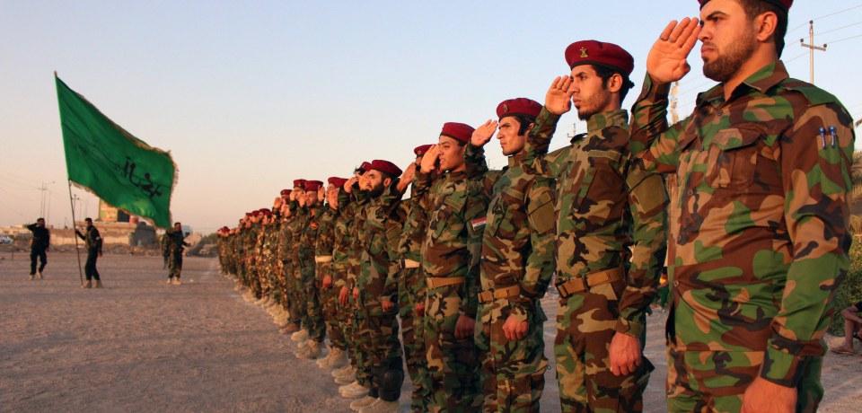 Síita milicisták készülnek az iraki Tikrit visszafoglalására, amely jelenleg az Iszlám Állam fennhatósága alatt van (f.: AFP)